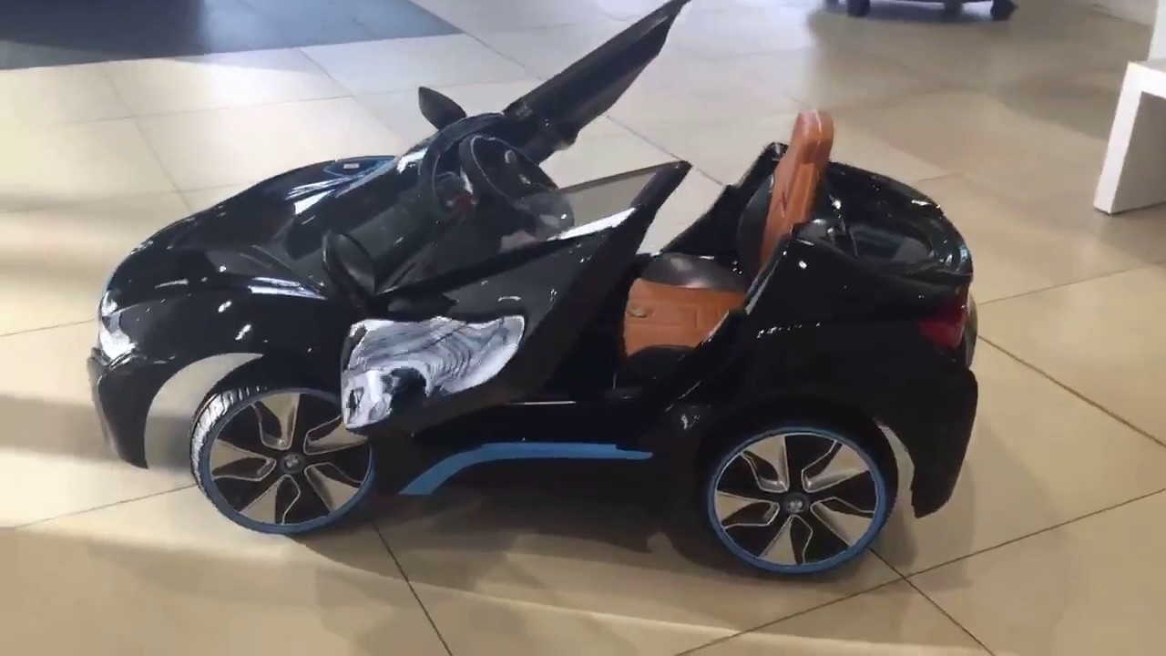 Saoxi The Stunning New Kids Bmw I8 6 Volt Electric Ride On 325