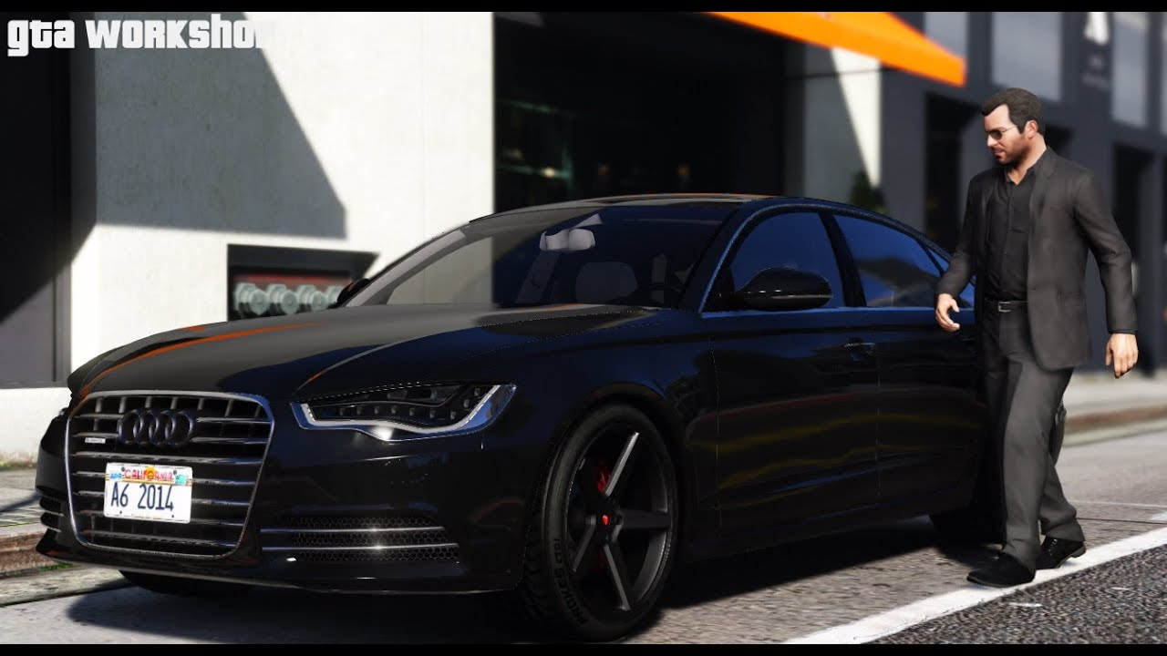gta 5 mod audi a6 c7 2014 fast drive pc 60. Black Bedroom Furniture Sets. Home Design Ideas