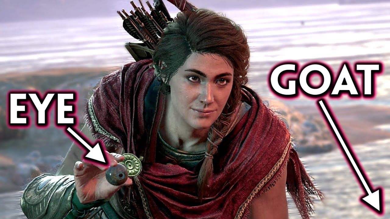 Kassandra Sticks The Cyclops Eye In A Goat S Rump Assassin S