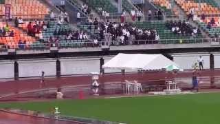 2015 東海高校総体陸上 女子4×400mR 予選1 水野瑛 検索動画 18