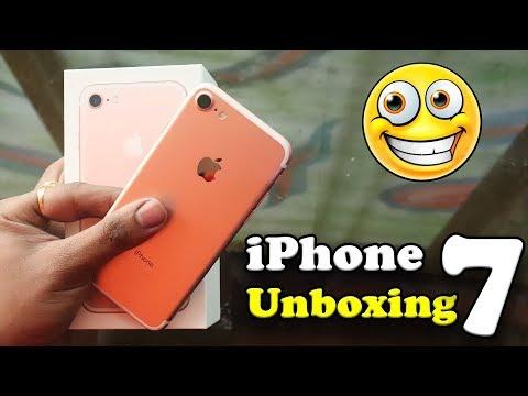2020-new-looking-apple-iphone-7-rose-gold-unboxing-⚡|-iphone-=-bada-aadmi-😂!