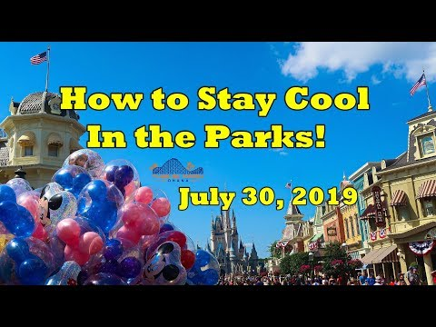 Tips to Beat the Heat at Disney World!!!