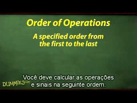como-aplicar-ordem-em-operações-de-Álgebra-para-leigos