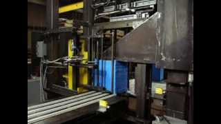 stacked foam automatic strapping system