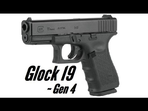 Glock 19 Gen 4 - Disassembly, Lubrication and Reassembly
