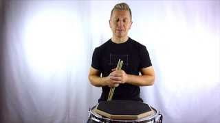 Drum Rudiment Series - Single Drag Tap - How To Play