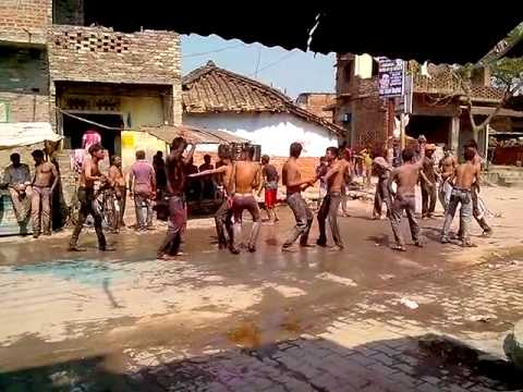 Accident on Holi in Uttar Pradesh