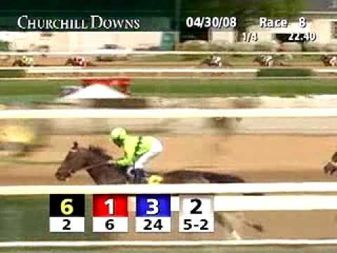 CHURCHILL DOWNS, 2008-04-30, Race 8