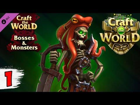 НОВОЕ DLC   БОССЫ И МОНСТРЫ ► Craft The World Bosses & Monsters #1