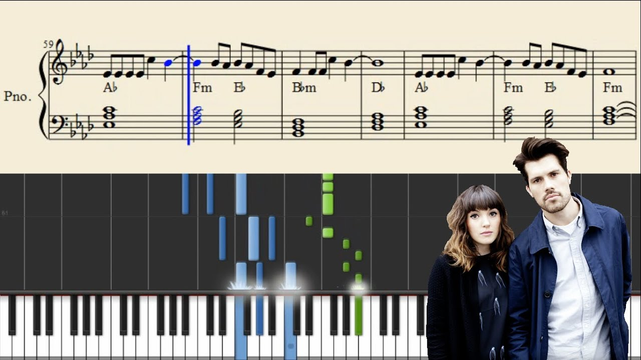 oh wonder piano sheet music pdf