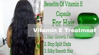 VITAMIN E HAIR OIL TREATMENT FOR FAST HAIR GROWTH -GET THICK LONG HAIR