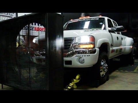 Dyno Testing - Day 1 of Diesel Power Challenge 2013!