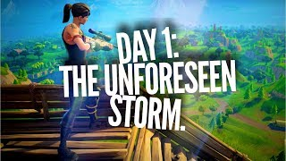 TRYHARD COD Player's Journey on GETTING BETTER AT FORTNITE! JOUR 1!