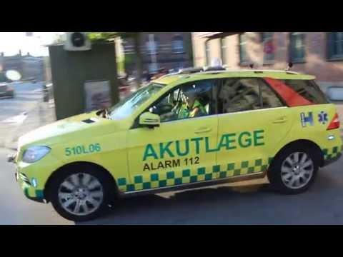 [Copenhagen] Akut Laege L06 Kobenhavn / Medic car L06 responding in Copenhagen