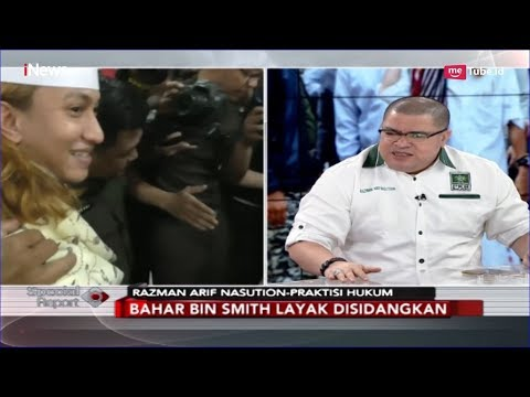 Bahar bin Smith Dikenai Pasal Berlapis, Begini Komentar Razman Arif - Special Report 28/02