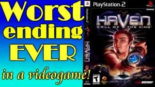 Worst Videogame Ending EVER - Haven: Call Of The King (PS2)