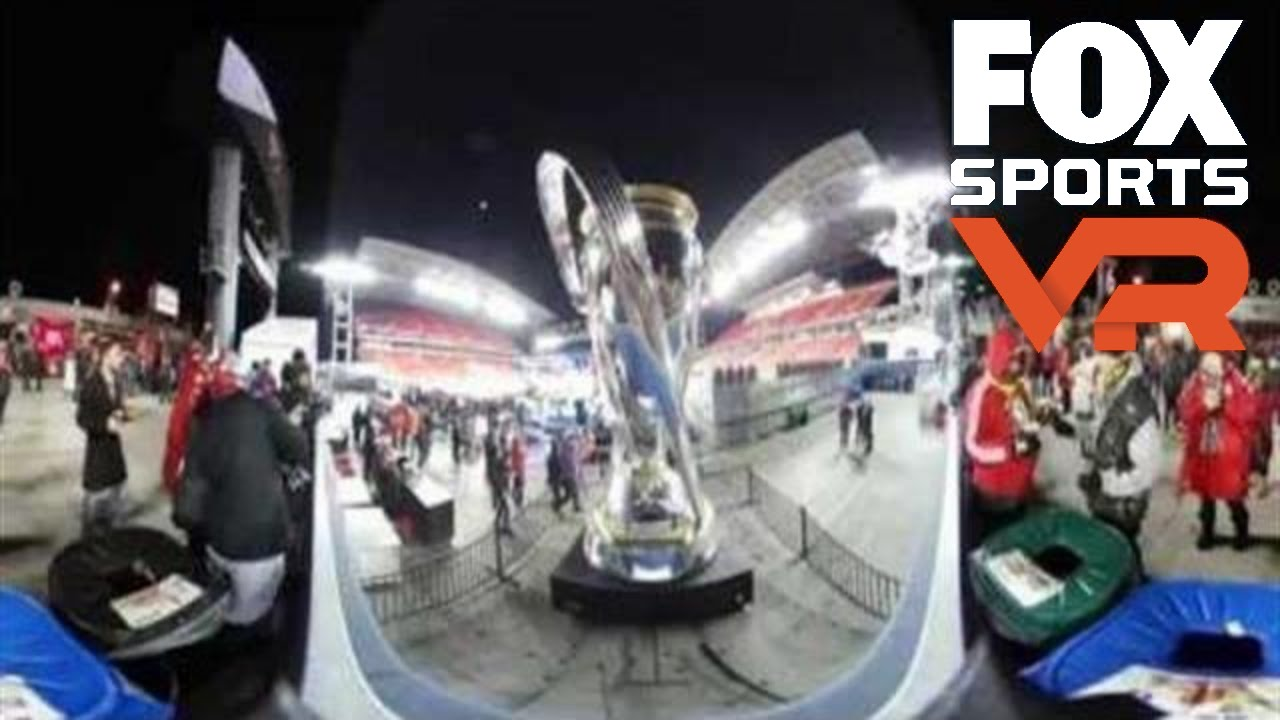 Check out the FOX Sports set in 360° | MLS CUP