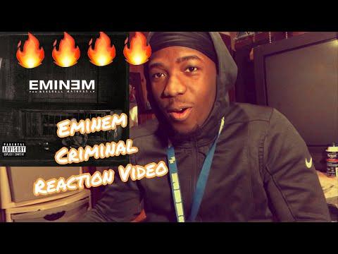 AMAZED! EMINEM - CRIMINAL - REACTION