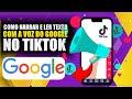 Como Narrar e Ler Texto Com a Voz do Google no Tiktok