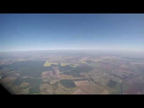 Заход и посадка в аэропорту Воронеж