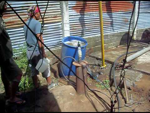 Deep Well Water Pump Flow Rate Observation 2 Youtube