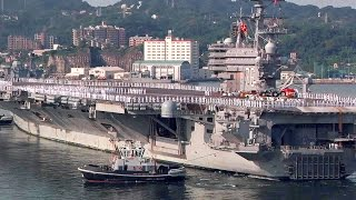 US Carrier USS Ronald Reagan Arrives at New Homeport in Japan
