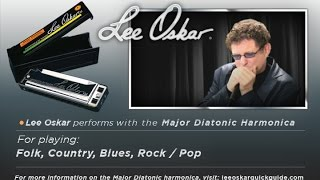 Lee Oskar Demonstrates - The Major Diatonic Harmonica