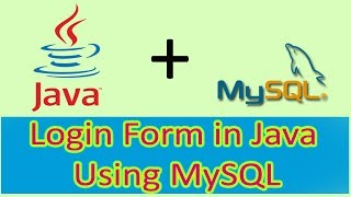 Login form in Java using Netbeans and MySQL