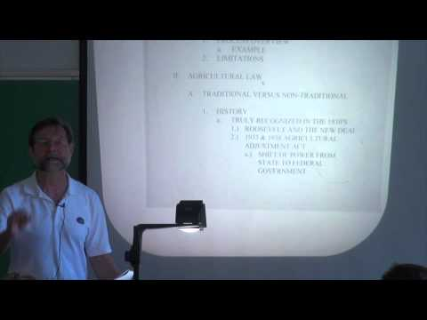 Dr. Michael Olexa- The Agricultural Policy Process