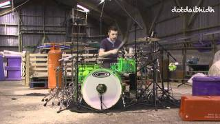 The Red Jumpsuit Apparatus - Face Down(DC Drum Cover)