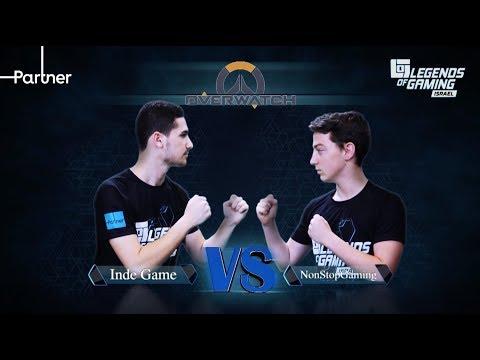 Inde game vs nonstop | פרק 1 | overwatch