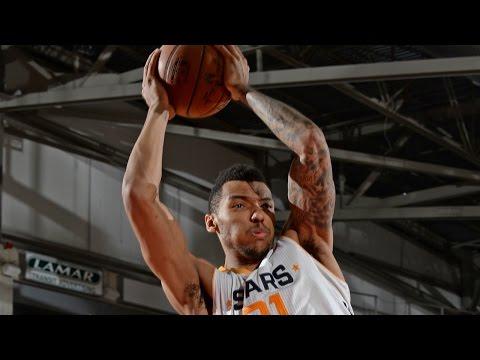Jazz Rookie Joel Bolomboy NBA D-League Highlights: February 2017