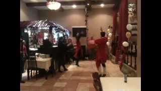 Танец шалахо в ГРУЗИНСКОМ РЕСТОРАНЕ ШАЛАХО!