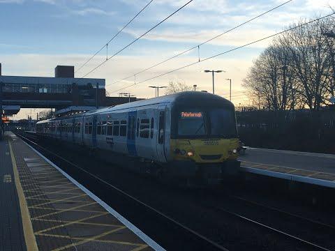 Trains at Stevenage 15/12/2019