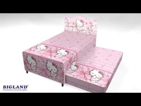 Hello Kitty Magnolia Twin Springbed