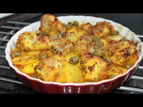 pilons-de-poulet-au-four-et-ses-pommes-de-terre-fondantes