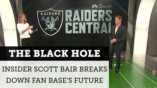 What happens to The Black Hole when the Raiders move to Las Vegas? | NBC Sports Bay Area