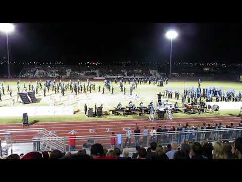 Foothill High School Marching Band , 10/7/2017, Henderson Bandfest, Henderson, NV