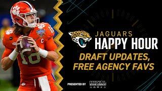 Trevor Lawrence Updates, Free Agency Favorites | Jaguars Happy Hour