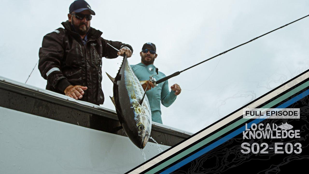 Fishing show local knowledge s02 e03 tuna town full for Tuna fishing show