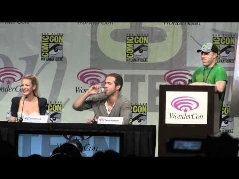 Green Lantern with Ryan Reynolds at Wondercon 2011