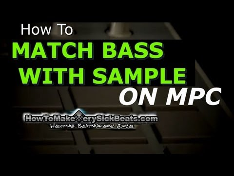 Beat Making: How to Match Bass with Sample
