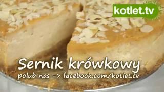 Sernik krówkowy - przepis KOTLET.TV