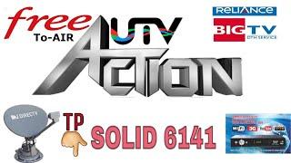 UTV Action Free On Big Tv Setilite