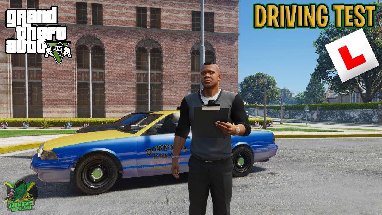 GTA 5 REAL LIFE MODS ROLEPLAY   DRIVING TEST   EPISODE 3   JAMAICA''S WORST GAMER   JWG NATION