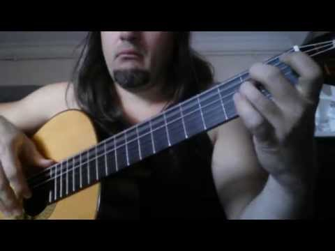 Corpse Bride Piano duet for classical guitar