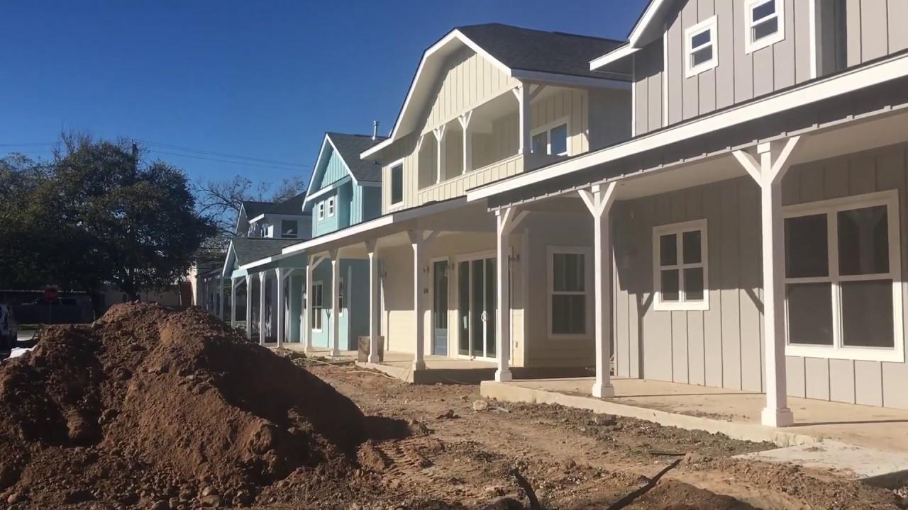 BRAND NEW Modern Farmhouses For Sale in Central Austin, Texas