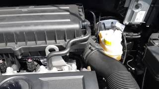 Вибрация двигателя Rapid 1.6 MPI