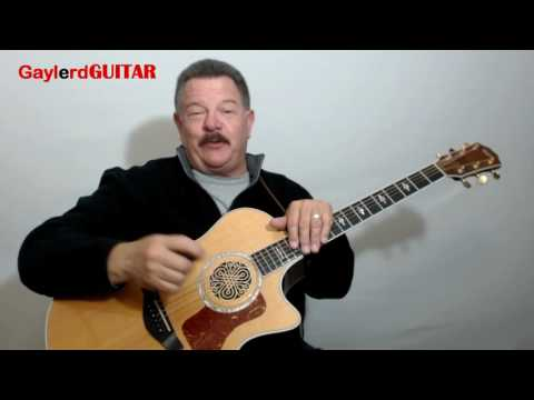"""LEARN TO PLAY GUITAR From The Ground Up (""""Starting From Scratch"""" Beginner Lessons) GaylerdGUITAR"""
