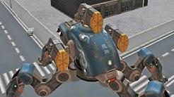 Walking War Robots Spider Robot - Fujin - Gameplay Part 2